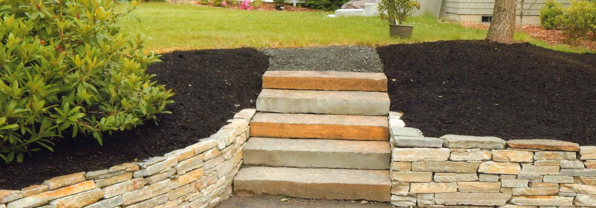 L & L Excavating & Landscaping Stone & Bark